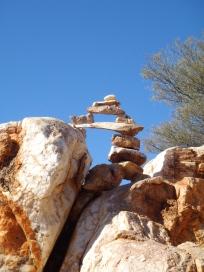 Seven Shrines (3) Quartz rocks