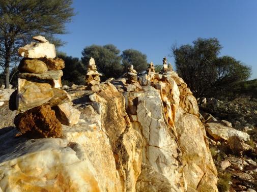 Seven Shrines, Kirkalocka Quartz outcrop, 2012