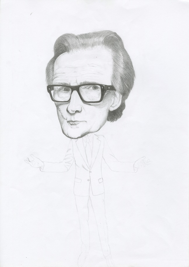 Bill Nighy (Black & White)