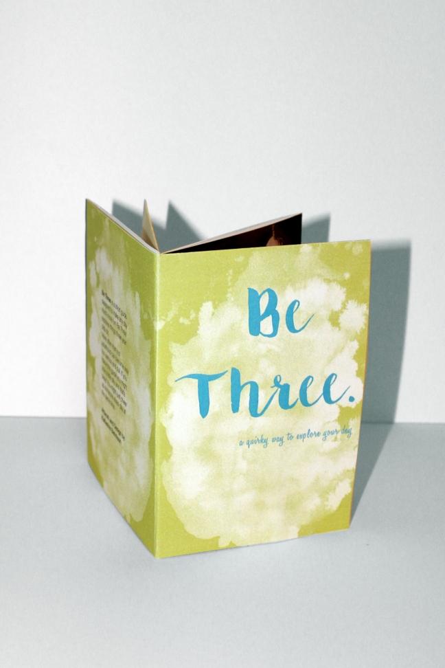 Be Three mini book